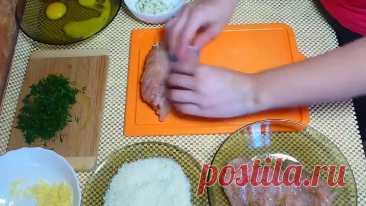 Куриные рулеты к праздничному столу ( рецепт )