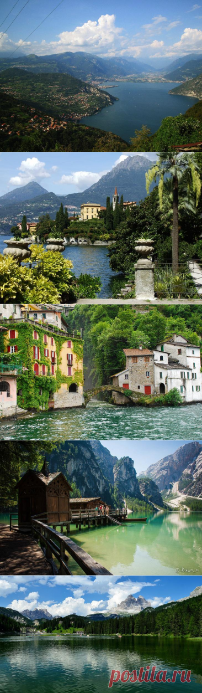 Итальянские озера: ТОП-10 мест с потрясающими видами