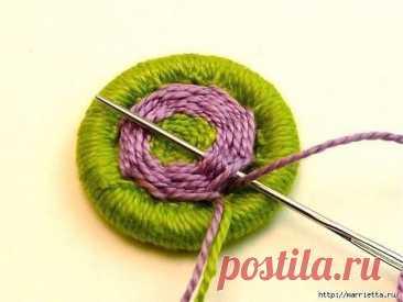 Интересный вариант пуговиц для вязаной одежды