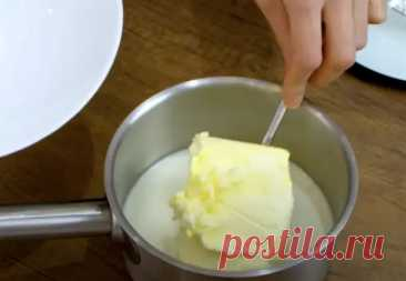 Смешали магазинное молоко и масло: жирные домашние сливки готовы за 10 минут - Steak Lovers - медиаплатформа МирТесен