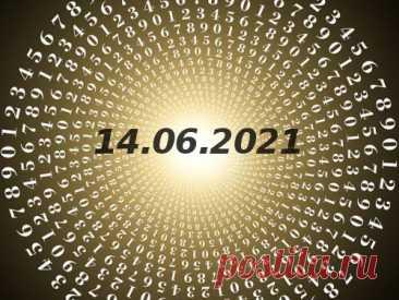 Нумерология иэнергетика дня: что сулит удачу 14июня 2021 года Нумерологический прогноз наэтот понедельник поможет вам правильно начать новую неделю. Эксперты вданной области рассказали, чем будет примечателен этот день ичего можно ожидать от Вселенной.