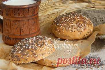 Цельнозерновые булочки Пшеничные булочки на цельнозерновой муке по этому рецепту получаются не только вкусными, полезными и ароматными, но и очень красивыми.
