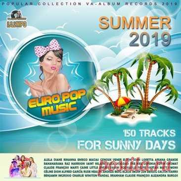 """Europop Music For Sunny Day (2019) Mp3 Сборник поп музыки под названием """"Europop Music For Sunny Day"""" от известных певцов европы. Новые песни, а так же ремиксы на громкие хиты ждут Вас в этом лонгплее.Исполнитель: Varied ArtistНазвание: Europop Music For Sunny DayСтрана: EUЛейбл: VA-Album Rec.Жанр музыки: Pop, DanceДата"""