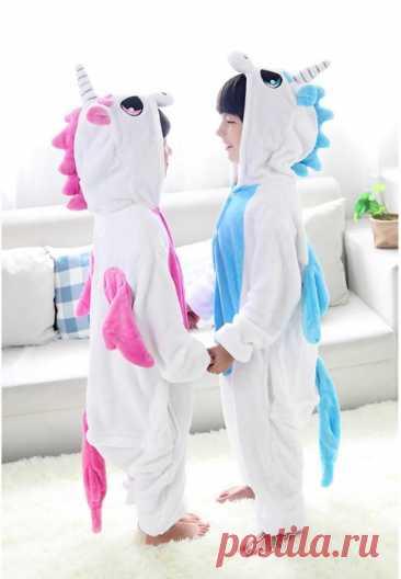 Скачать выкройку Свободная детская пижама кигуруми ( р 74(80) - 158(164)) в PDF бесплатно