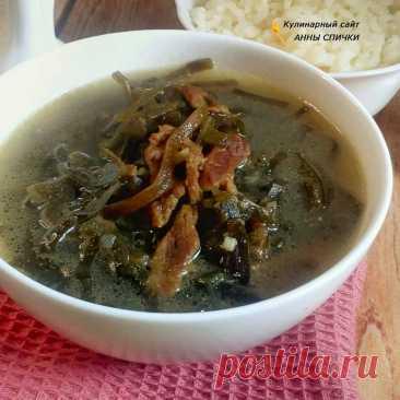 Миеккук - корейский суп из морской капусты с говядиной
