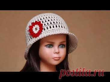 El sombrero por el gancho | Como vincular el sombrero veraniego por el gancho