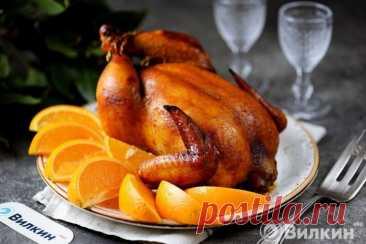 Курица с апельсинами в медово-имбирном маринаде в духовке - рецепт с фото пошагово