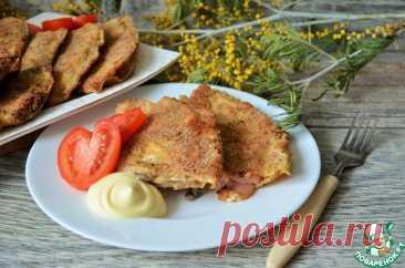 Блинные отбивные или жареные фаршированные блинчики Кулинарный рецепт