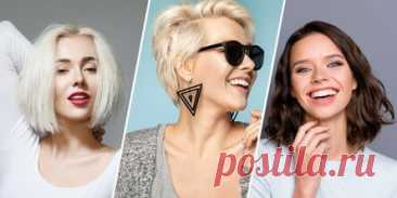 10 стильных женских стрижек, которые добавят объём тонким волосам