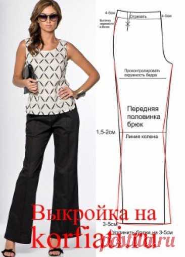 How to sew trousers - advice to Anastasia Korfiati