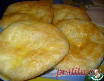 Хачапури из слоeного теста – кулинарный рецепт