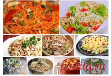 9 most tasty salads for every day!