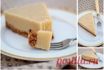 Находка для сладкоежек – яблочно-ореховый торт с нежным яблочным суфле и ореховой основой
