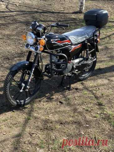 Мотоцикл Forte 110 (Увеличенная Alpha (Альфа). Доставка по Украине: 550 $ - Мотоциклы Песочин на Olx