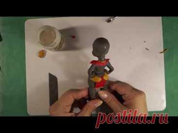 Фигурка из полимерной глины своими руками. Figure made of polymer clay with your own hands.