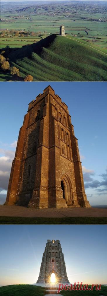 Гластонберийский Тор в Англии и мифический Авалон
