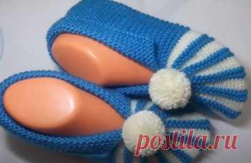 Предлагаю связать уютные следки-тапочки для себя любимой, без заморочек (быстро, просто, удобно) | Вязание и Рукоделие | Яндекс Дзен