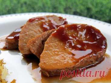 Свинина в томатно-винном соусе