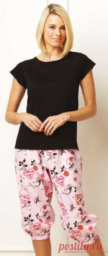 Скачать выкройку Женская пижама (р XS-X) в PDF бесплатно Выкройка Женская пижама (р XS-X) в ПДФ, скачайте пошаговую инструкцию бесплатно, сшить Женская пижама (р XS-X) своими руками.