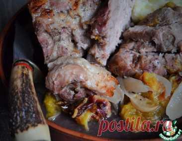 Свинина со сливами и чесноком – кулинарный рецепт