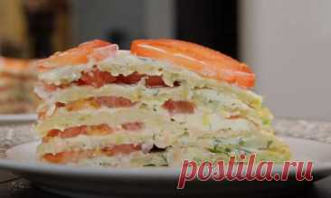 Кабачковый Торт Рецепт с Помидорами и Сыром Как приготовить кабачковый торт с помидорами и сыром. Закусочный торт из кабачков получается очень сочный, нежный и вкусный.