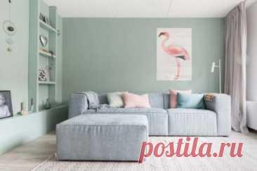 Цветовое сочетание стен, пола и потолка (70 фото)