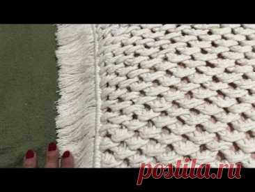 Macramé - Almofada - #capamuitofácil - YouTube