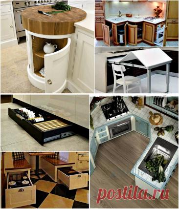 16 функциональных предметов мебели, которые хорошо впишутся в крошечную кухню