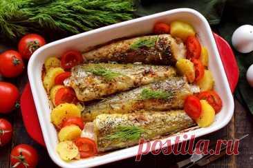 Смажьте минтай горчицей и отправляйте в духовку | Рецепты салатов и вкусняшек | Яндекс Дзен