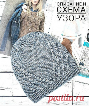 Описание и схема шапки от olga_ipaeva_knit.