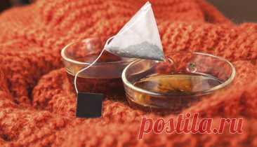 ღПовторное использование чайных пакетиков