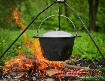 Готовим на природе: блюда в казане по мотивам полевой кухни. Кулинарные статьи и лайфхаки