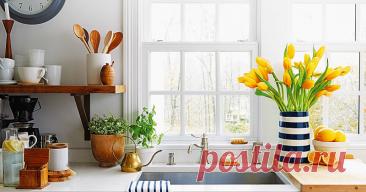 Кухня в порядке. 10 простых способов победить бардак Лучший способ привести кухню в порядок – избавиться от лишнего и оставить только то, что действительно нужно.