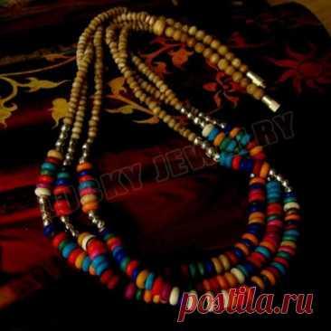 Тибетский цвет кости бисера 3-слойный Амулет ожерелье | Украшения и аксессуары | АлиЭкспресс