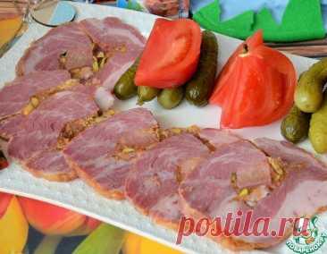 Мясной орех с языком и фисташками – кулинарный рецепт
