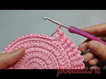 Необычная КАЙМА КРЮЧКОМ! Так вы еще не вязали! Очень красивая обвязка края | Crochet border - YouTube