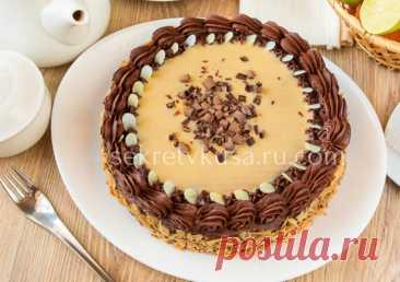 Торт с яичным ликером и вкусным сырным кремом - Секрет вкуса - sekretvkusa.ru.com