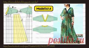 Летнее платье и сарафаны с простыми выкройками