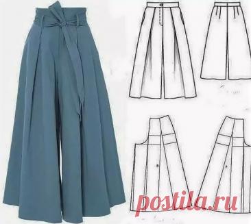 Шьем красивые и удобные летние наряды. Подборка для рукодельниц #шитье #идеи #выкройки