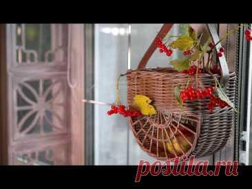 Полукруглая подвесная корзина (дорбаскет)