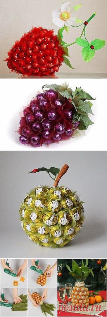 Как подарить конфеты оригинально — Сделай сам, идеи для творчества - DIY Ideas