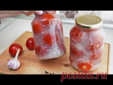 Даже бабушка удивилась этому рецепту, помидоры на снегу зимой как летом