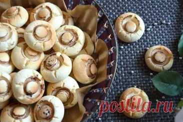 (11) Печенье «Грибочки» — удивите друзей! - Хозяин и Хозяюшка - медиаплатформа МирТесен