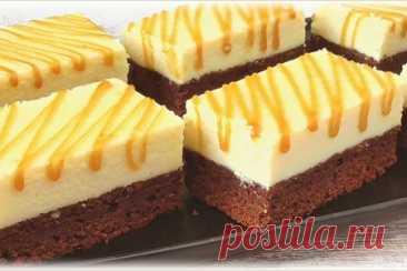 Шоколадно-творожный пирог – рецепт с фото