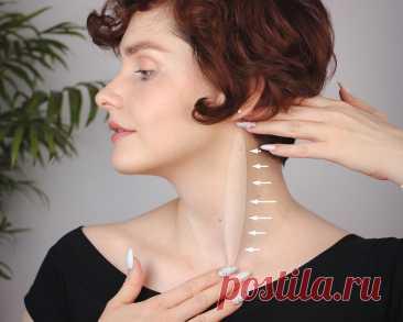 Перестала отекать, а лицо подтянулось: показываю простую технику массажа, которой поделился профи   Бьюти-общежитие   Яндекс Дзен