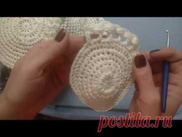 как вязать панаму шляпу крючком МК 2
