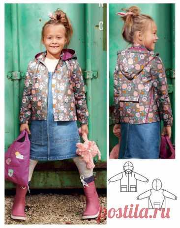 Выкройка куртки-ветровки детской р.104-134. ------------------------------------------------------- Сохраняйте себе, чтобы не потерять. Буду очень благодарна за лайки  #выкройки #мастер_класс #шитье #для_детей #куртка