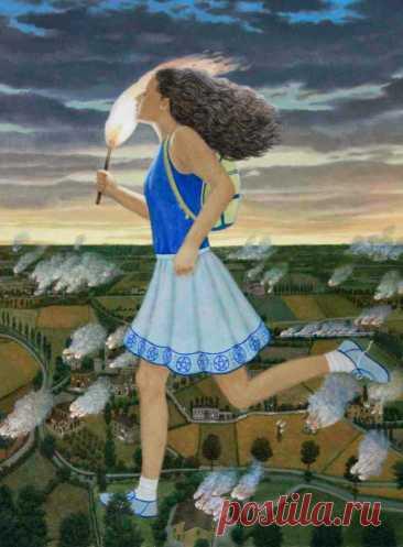 Мир мечты. Итальянский художник. Adelchi-Riccardo Mantovani