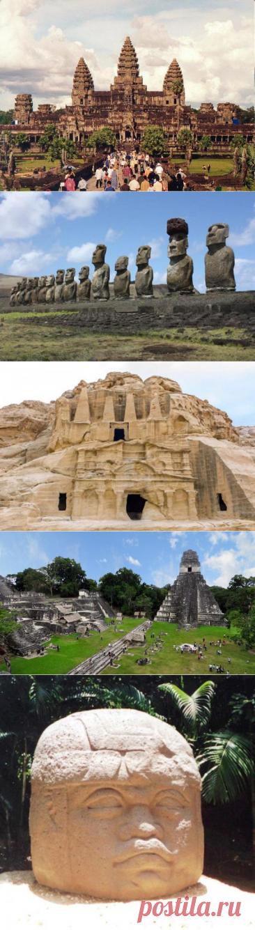 10 бесследно исчезнувших городов и цивилизаций