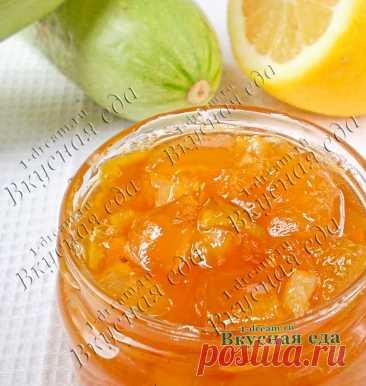 Варенье из кабачков с лимоном Янтарное, удивительно ароматное и вкусное